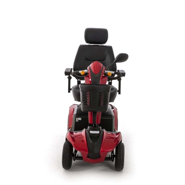 Red Mobility Scooter Front