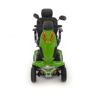 Large Green All terrain Mobility Scooter Front
