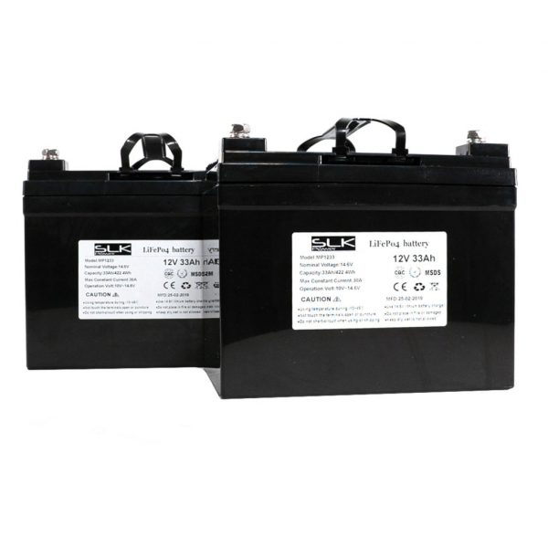 12v 33ah Lithium Mobility Scooter Batteries