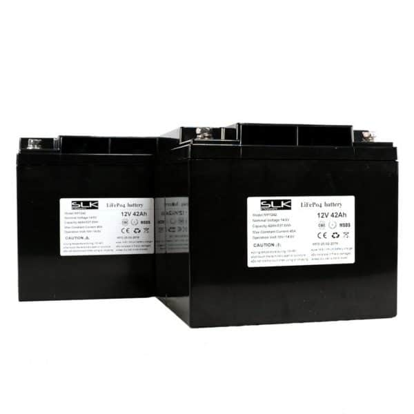 12v 42ah Lithium Mobility Scooter batteries