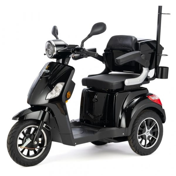 Large Black 3 Wheel Mobility Scooter