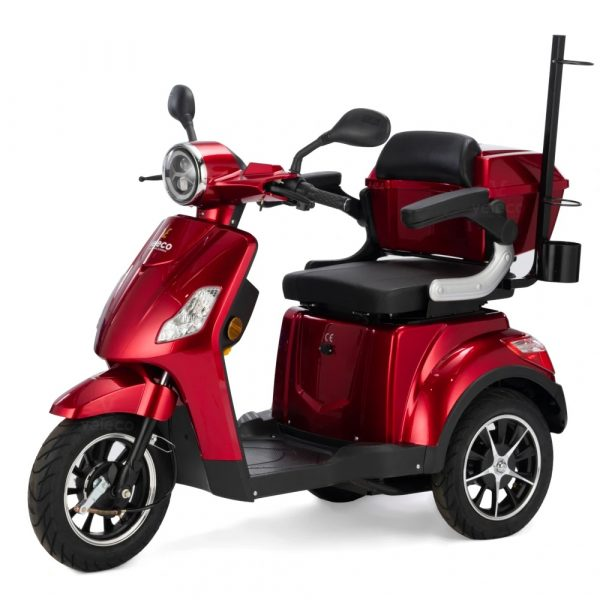 Large Red 3 Wheel Mobility Scooter