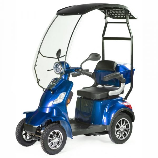 Large Blue Scooter with Canopy