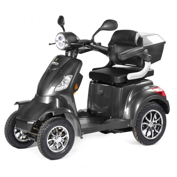 Large Grey 4 Wheel Mobility Scooter