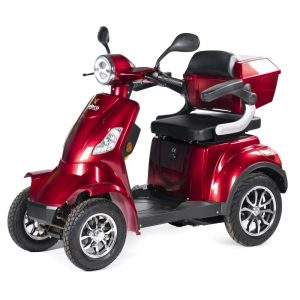 Large Red 4 Wheel Mobility Scooter