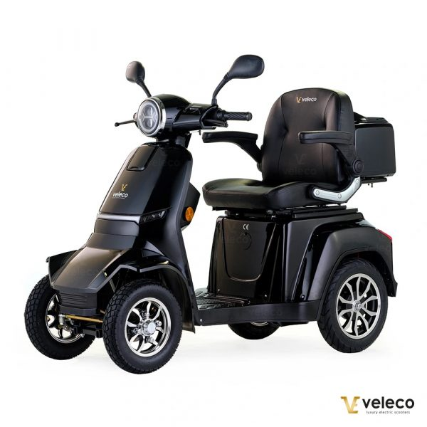 Large Black 4 Wheel Mobility Scooter