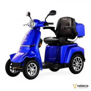 Large Blue 4 Wheel Mobility Scooter