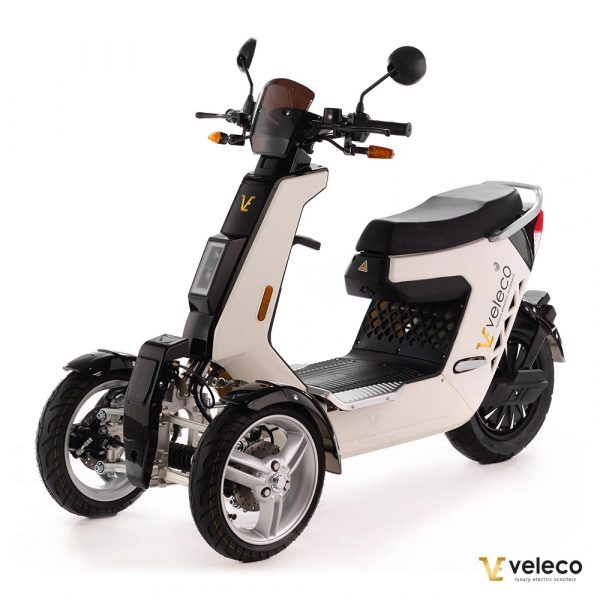 3 Wheel Electric Moped