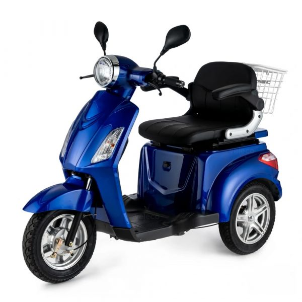 Large Blue 3 Wheel Mobility Scooter