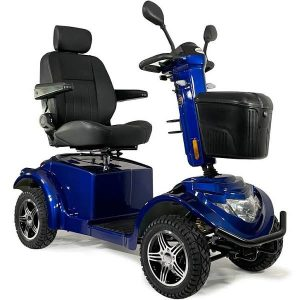 Blue All Terrain Mobility Scooter